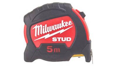 Mètre à ruban Milwaukee STUD 5 mètres 48229905