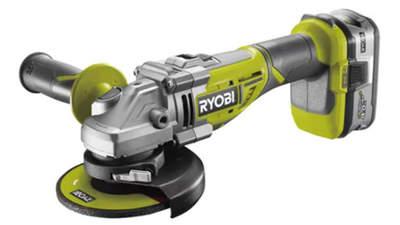 meuleuse d'angle Brushless Ryobi R18AG7-L40S 18 V One+ 125 mm