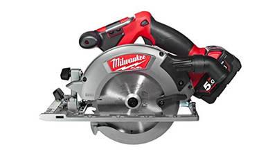 Scie circulaire sans fil M18 CCS55-502X Milwaukee prix pas cher