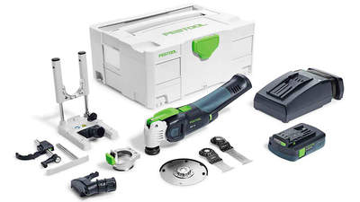 Outil oscillant multifonctions VECTURO OSC 18 LI 3,1 E-SET Festool