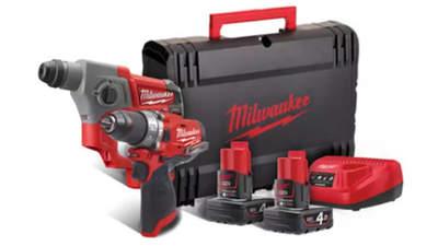 Pack d'outils sans fil Milwaukee M12 FPP2B-402X POWERPACK