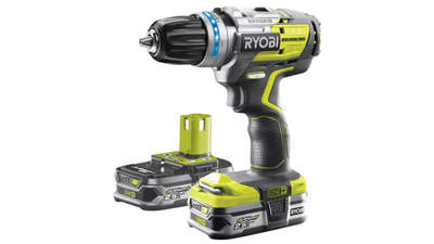 perceuse-visseuse à percussion Brushless Ryobi R18PDBL-225S 18 V One+