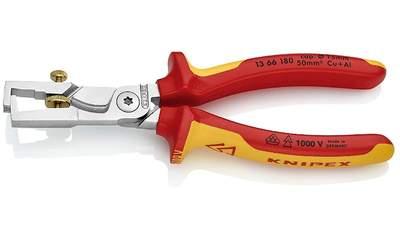Pince à dénuder et coupe-câbles StriX KNIPEX 13 66 180 SB