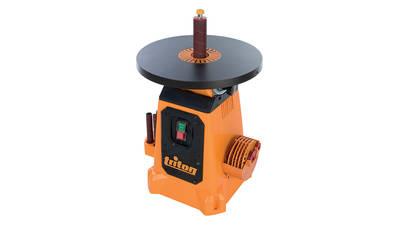 ponceuse à cylindre oscillant avec plateau inclinable Triton TSPS 370