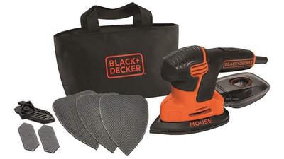Ponceuse multifonctions filaire Black + Decker KA2500K-QS 3 accessoires