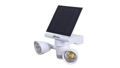 Test complet : Projecteur solaire Ribimex PRSPOTSOL5X2 Eco Garden