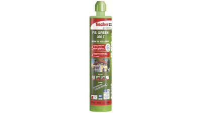 Résine de scellement Fischer FIS Green 470395 cartouche de 300 ml