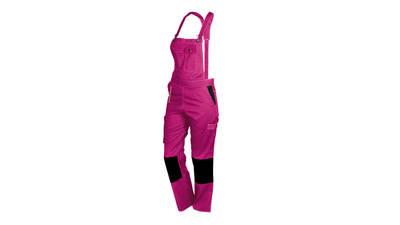 Salopette de travail rose et noir Fashion Securite