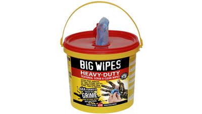 seau de 240 lingettes Big Wipes Heavy-Duty 4 x 4 6002 0055