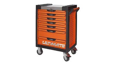 Test complet : Servante KS Tools ULTIMATE 7 tiroirs orange