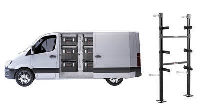 Supports aménagement véhicule ToughSystem BSYS.TKVANPB
