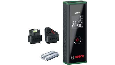 Télémètre Laser Zamo 0603672707 set avec 2 adaptateurs Bosch
