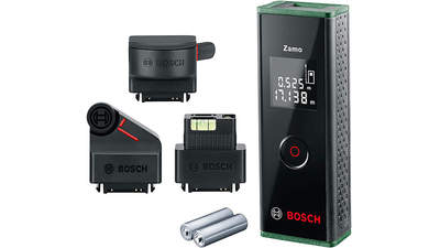 télémètre Laser Zamo 0603672704 set avec 3 adaptateurs Bosch
