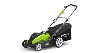 test et avis Tondeuse sans fil Greenworks 2500107 G40LM45