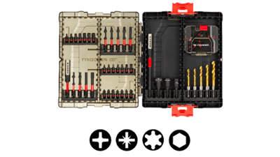 Test complet : Coffret d'embouts de vissage FACOM IMPACT DUAL TORSION EN.1J50PB 50 outils