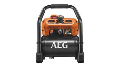 Test complet : Compresseur sans fil AEG BK18-38BL-0