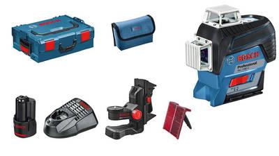 Test et avis Laser lignes Bosch GLL 3-80 C Professional L-Boxx prix pas cher