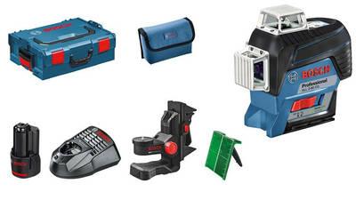 Test et avis Laser lignes Bosch GLL 3-80 CG Professional L-Boxx prix pas cher