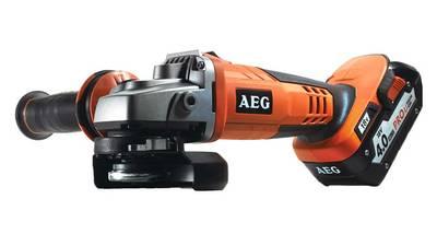 Test et avis de la meuleuse sans fil AEG BEWS 18-125X LI-402C