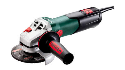 Test complet : Meuleuse angulaire filaire Metabo WEV 11-125 Quick 603625000