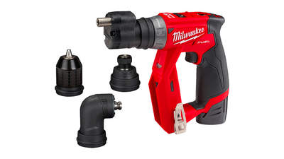 Test complet : Perceuse-visseuse sans fil à mandrin amovible Milwaukee M12 FDDXKIT-202X