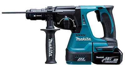 Test complet : Perforateur sans fil SDS-Plus Makita DHR243RTJ