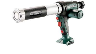 Test complet : Pistolet à mastic Metabo KPA 18 LTX 400 601206850