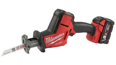 Test et avis Scie sabre Milwaukee M18 FHZ-502X