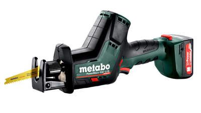 Test complet : Scie sabre sans fil Metabo PowerMaxx SSE 12 BL 602322500