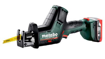 Test complet : Scie sabre sans fil Metabo PowerMaxx SSE 12 BL 602322800