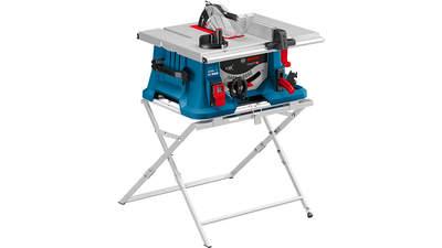 Test complet : Scie sur table filaire Bosch GTS 635-216 Professional avec piètement