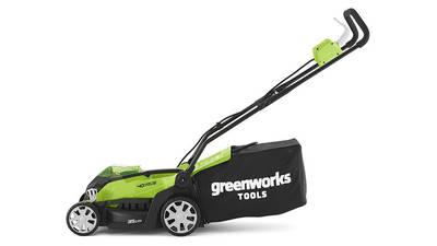 test et avis Tondeuse sans fil Greenworks G40LM35 2501907UC promotion pas cher