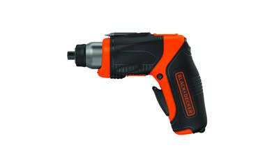 Tournevis CS3653LC BLACK+DECKER position pistolet