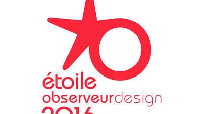Étoile de l'Observeur du design 2016