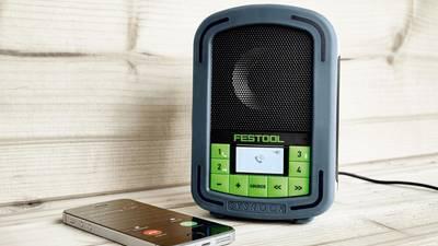 Radio de chantier SYSROCK BR 10 © Festool