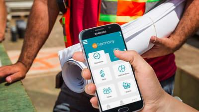 myharmony : la réponse mobile aux enjeux des loueurs de matériel BTP