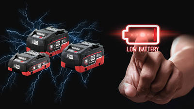Batteries LiHD Metabo