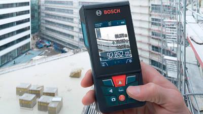 BOSCH GLM 120 C Professional : le premier télémètre connecté avec caméra