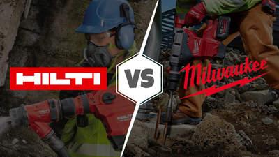 HILTI ou MILWAUKEE : quelle marque propose les meilleurs services ?