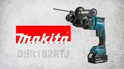 DHR182RTJ: le perfo-burineur sans fil 3modes compact de Makita