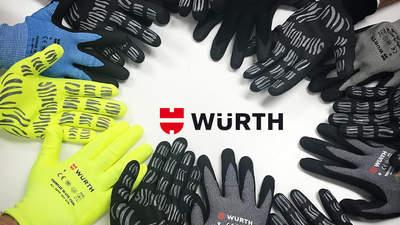 TIGER FLEX : la nouvelle gamme de gants de protection WÜRTH