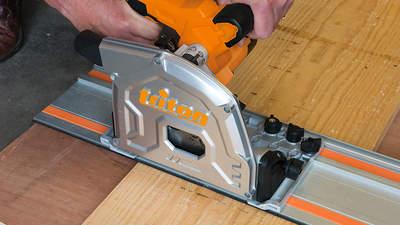 Triton lance son nouveau kit scie plongeante avec rail de guidage TTS185KIT