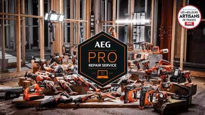 PRO REPAIR SERVICE AEG, le service de réparation rapide en ligne pour les professionnels