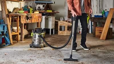 Aspirateur RYOBI eau et poussière sans fil R18WDV-0 ONE+