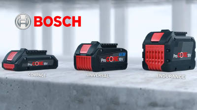 batterie procore v bosch with agrafeuse bosch. Black Bedroom Furniture Sets. Home Design Ideas