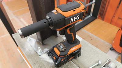 AEG présente son innovante boulonneuse à chocs sans-fil 6 modes