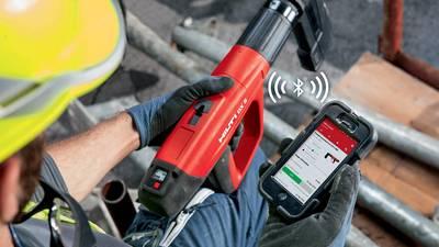Cloueur à poudre Bluetooth Hilti DX 5