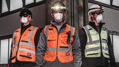 Masques respiratoire FFP2 FFP3 Milwaukee