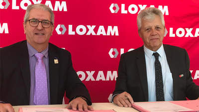 Michel Guisembert, Président de WorldSkills France et Gérard Deprez, Président du Groupe LOXAM