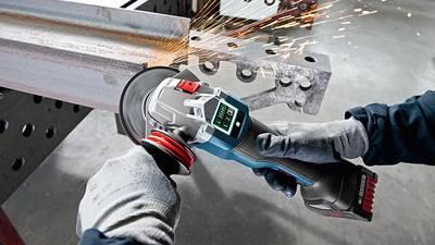 Test et avis meuleuses sans fil GWS18V-125PSC Bosch professional